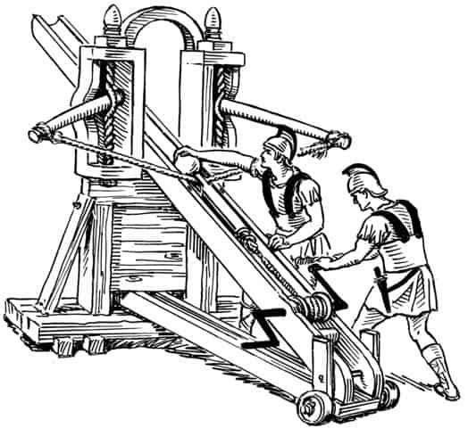 בליסטה, מכונת מצור רומית