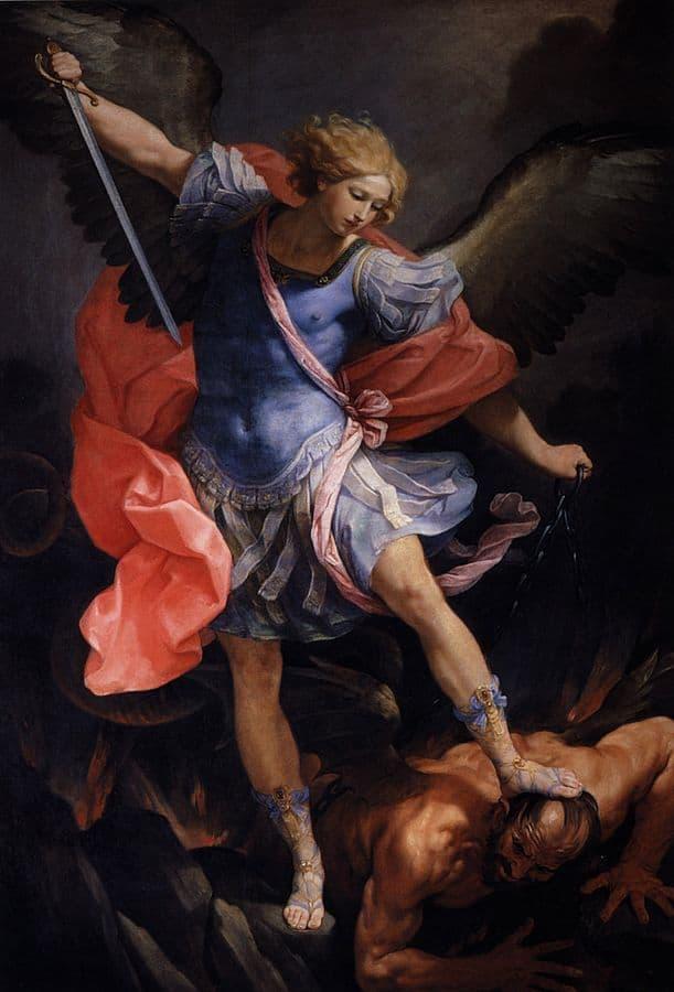רב מלאכים, מיכאל, לוציפר, גווידו רני