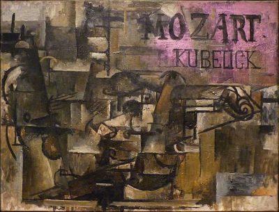 ז'ורז' בראק, קוביזם, כינור, מוצרט