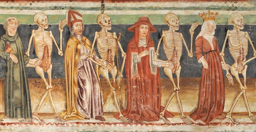 ריקוד המוות, פרסקו