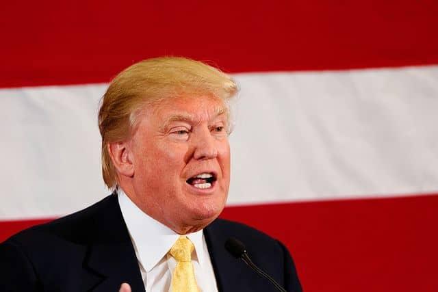 דונלד טראמפ, אסיפת בחירות