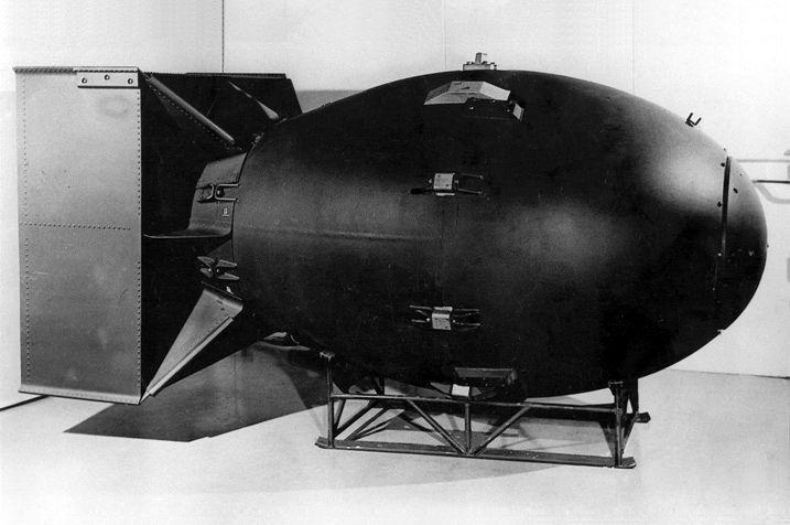 Fat Man, נגסאקי, פצצת אטום