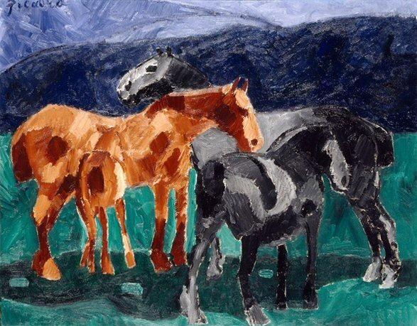 סוסים, פיקבייה, מרכז פומפידו