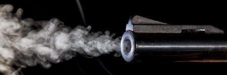 אקדח, קנה, מעשן