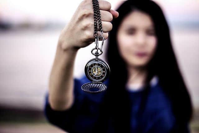 שעון כיס, היפנוזה