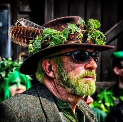 Jack-in-the-Green, הייסטינגס, זקן ירוק