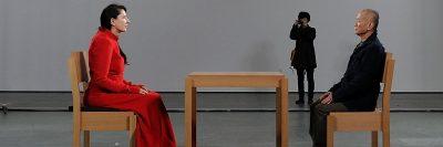 מרינה אברמוביץ', The Artist is Present
