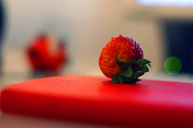 תות אדום, צבע אדום