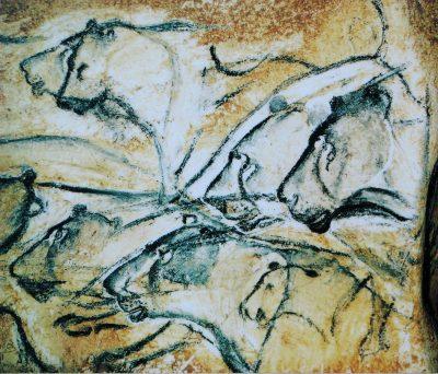 אריות, ציור מערות, Chauvet