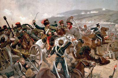 מלחמת קרים, בלקלאווה, הסתערות הבריגדה הקלה