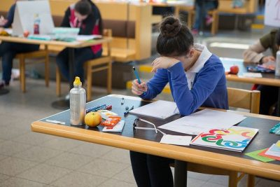 תלמידה, מבחן, מתמטיקה, אולימפיאדה