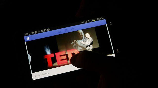 TED, הרצאה