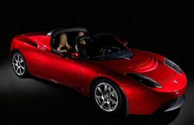 טסלה, מכונית חשמלית
