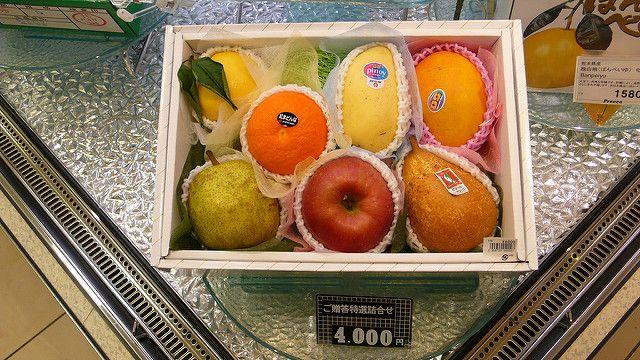 טוקיו, סופרמרקט, פירות