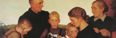 אדולף ויסל, משפחת איכרים מקלנברג