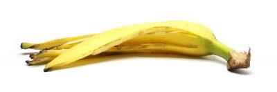 קליפה של בננה