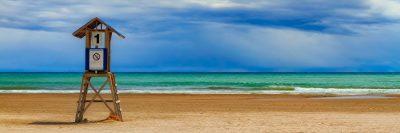 חוף, סוכת מציל