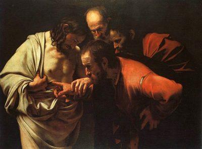 ספקנותו של תומא הקדוש, קרוואג'ו