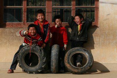 ילדים, סין