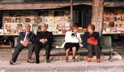 זוגות מבוגרים, גברים ונשים, יוון