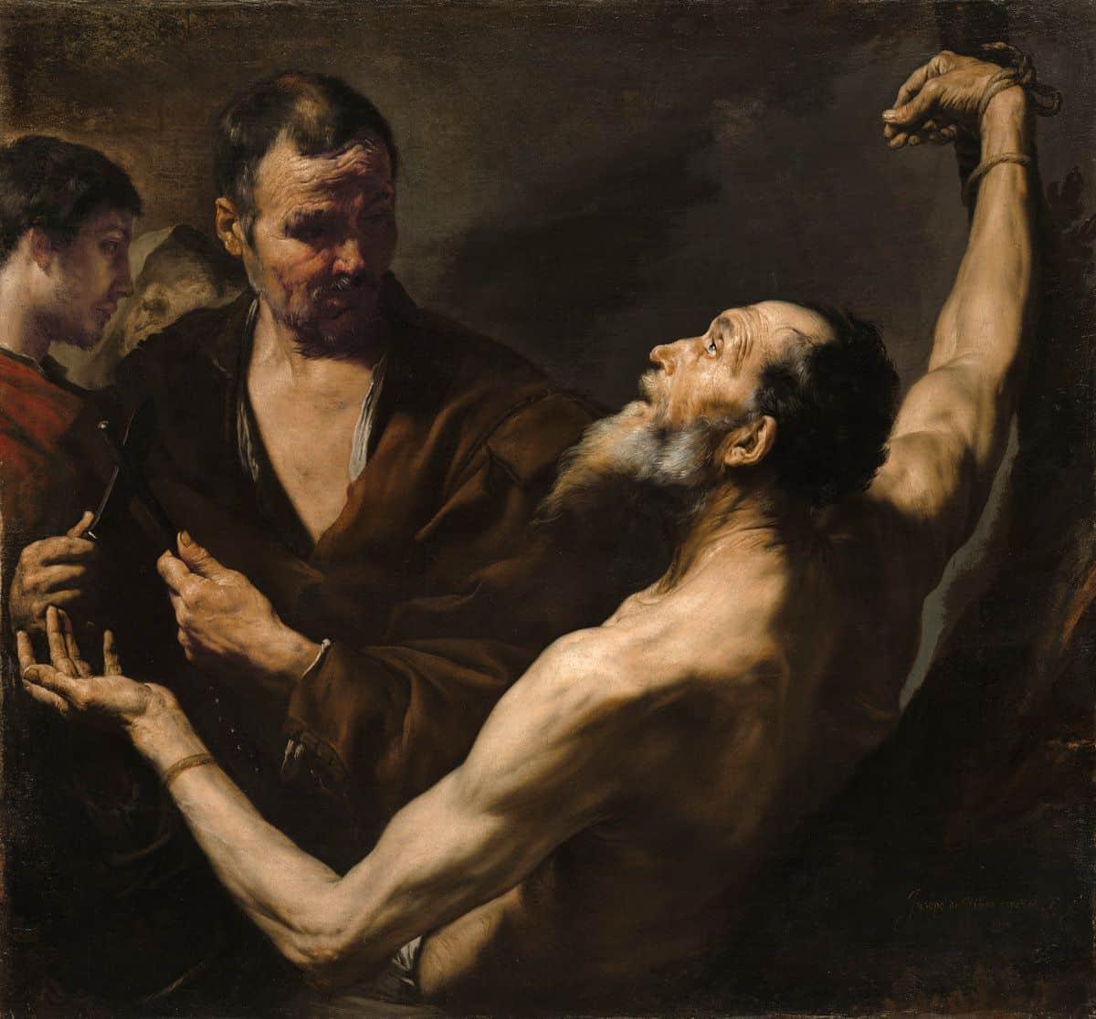 מותו של ברתולומאוס הקדוש, ריברה