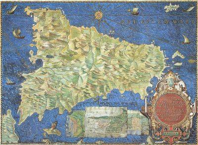 סיציליה, לימונים, מפה