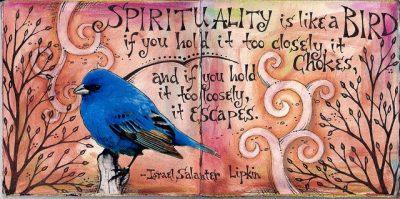 רוחניות, ציפור