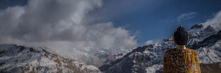 פסל בודהה, הרים