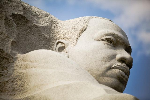 מרטין לותר קינג, אנדרטה, וושינגטון