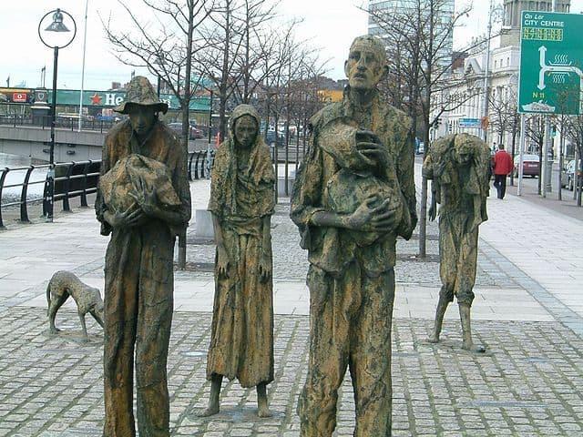 דבלין, אירלנד, הרעב הגדול, אנדרטה