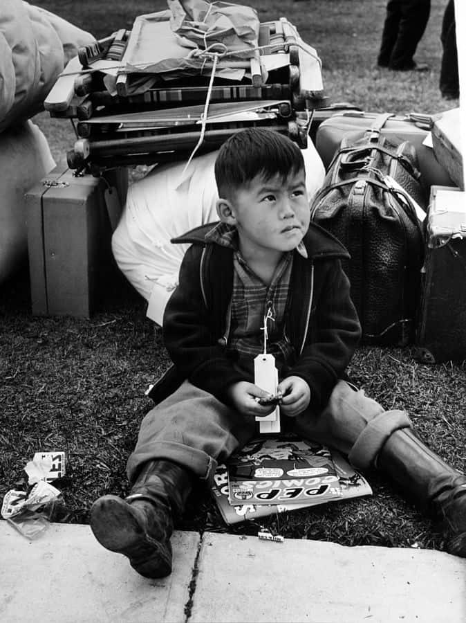 יפנים-אמריקנים, מחנות הסגר