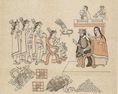 קורטס, מוקטסומה, מלינצ'ה, אצטקים, ספרדים