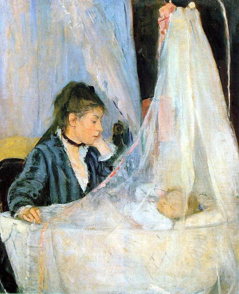 העריסה, ברת' מוריסו, Morisot