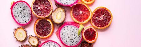 טבע דומם, פירות, פירות אדומים