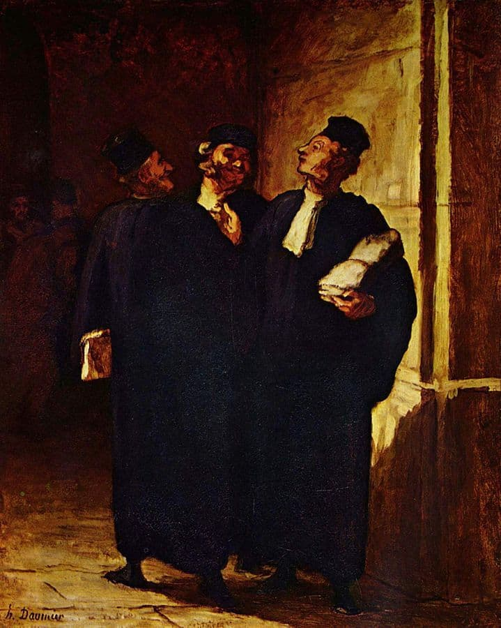 דומייה, עורכי דין