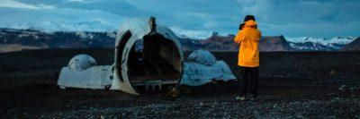 התרסקות, מטוס מרוסק, איסלנד