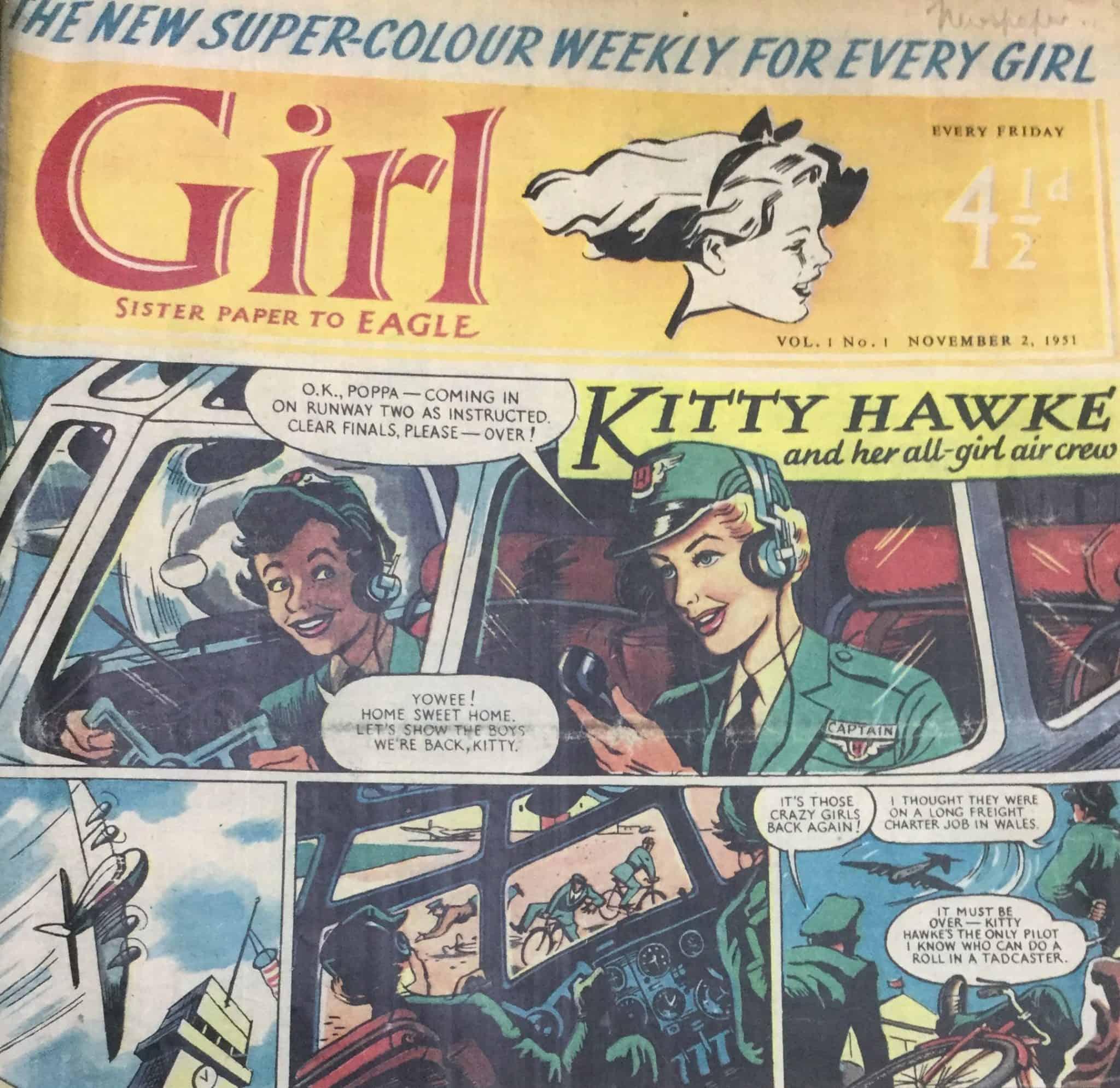 Girl, קיטי הוק, טייסת, נשים