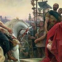 יוליוס קיסר, אלזיה, גאלים, Vercingetorix