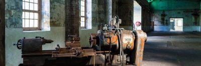 מחרטה, מפעל נטוש