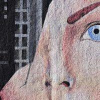 כאב, ציור קיר, פנים שבורות