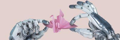 זרוע, רובוט, אוריגמי