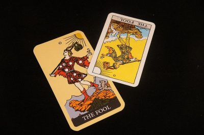 השוטה, קלף, טארוט