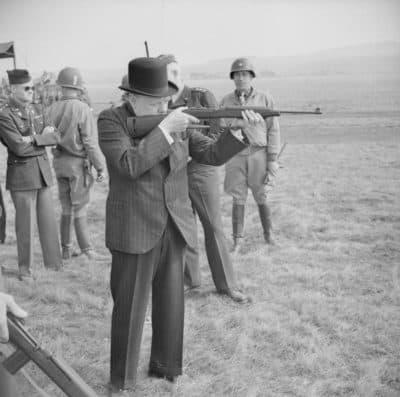 צ'רצ'יל, הצבא האמריקני, קרבין