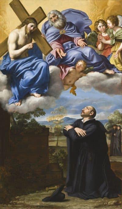 דומניקינו, התגלות, ישו, איגנטיוס הקדוש מלויולה