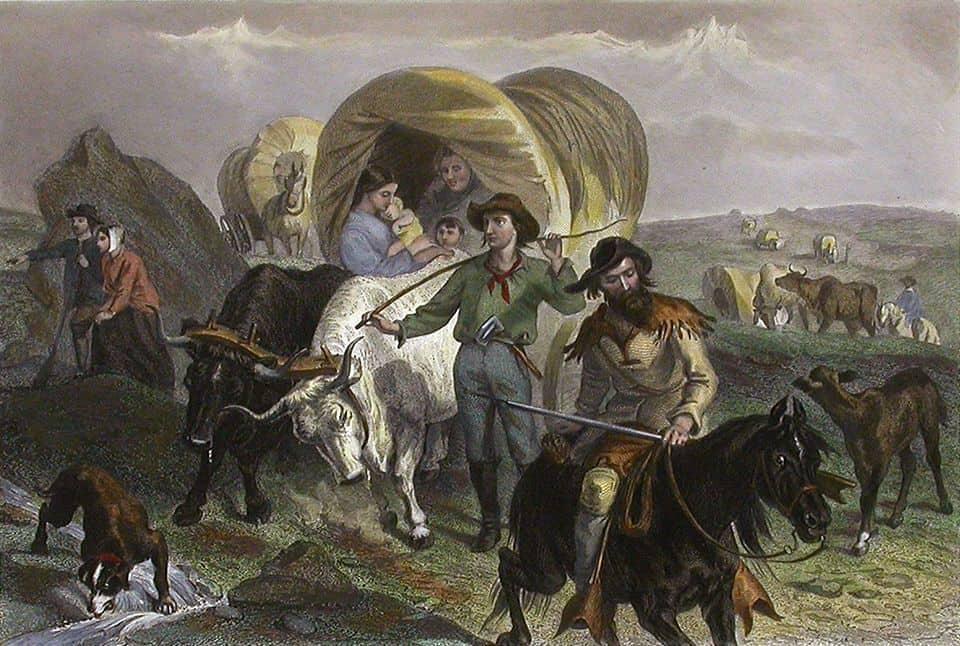 הספר האמריקני, מתיישבים, ארצות הברית, המישורים הגדולים
