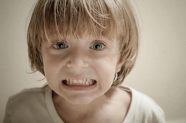 כעס, ילד כועס