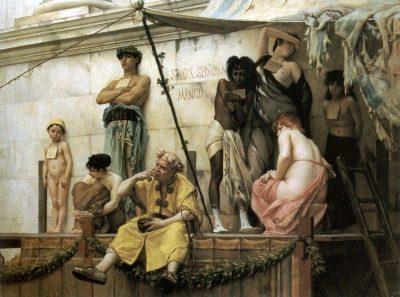 שוק העבדים, גוסטב בולנז'ה