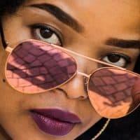 קייפטאון, דרום אפריקה, צעירה, משקפי שמש