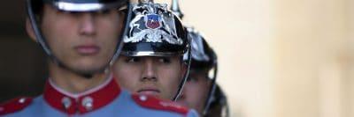 צ'ילה, קדטים, הלוויה צבאית, צבא, משמר כבוד