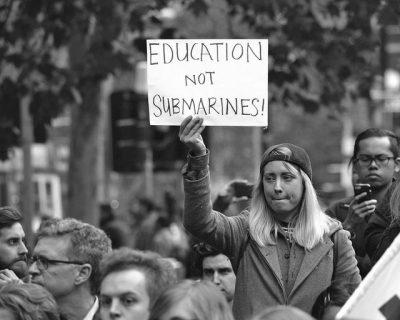 מחאת סטודנטים, חינוך, צוללות